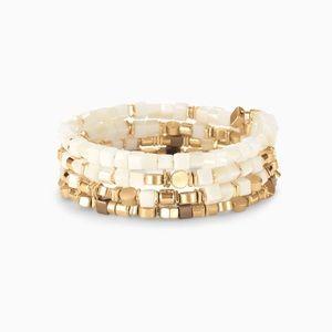 Stella and Dot Gia Coil bracelet